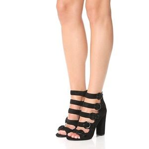 Kendall + Kylie Evie Buckle Sandals